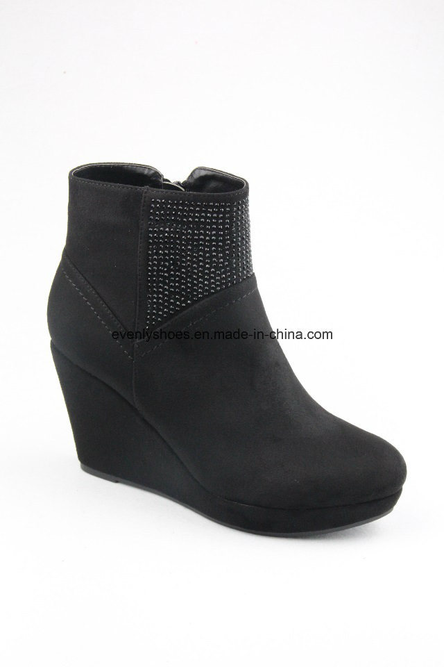 Lady Wedge Shoes Snow Boots for Winter