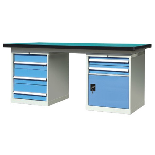 Westco Heavy Duty Work Bench with 5 Drawers and 1 Door (FHS)