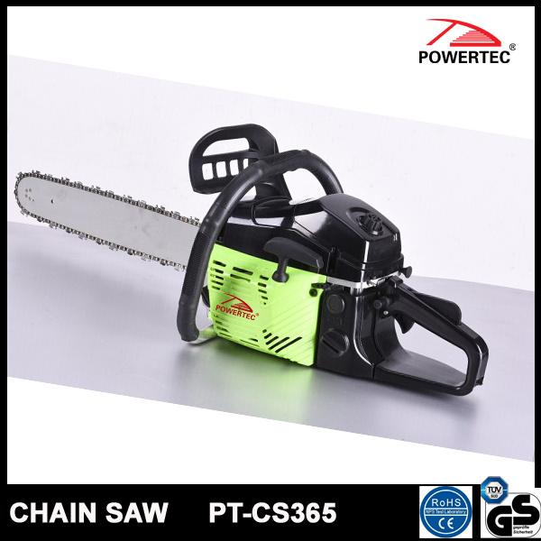 Powertec CE GS Easy Start 58cc Gasoline Chain Saw (PT-CS365)