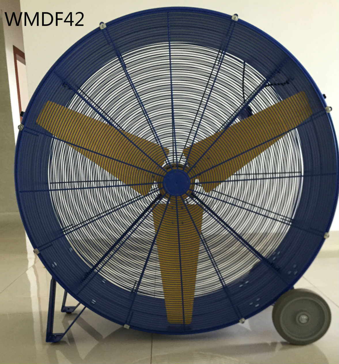 42 in. Industrial Heavy Duty, 2-Speed, Multi-Purpose Drum Fan with Aluminum Blade Material