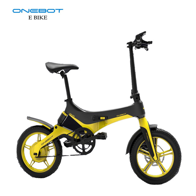 16 Inch Magnesium Alloy 36V 250W City Folding Electric Bike