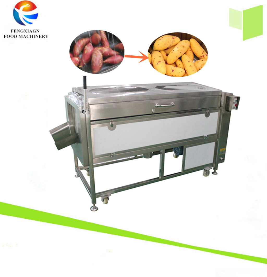 Attrition Type Potato Washer Vegetable Peeling and Washing Machine