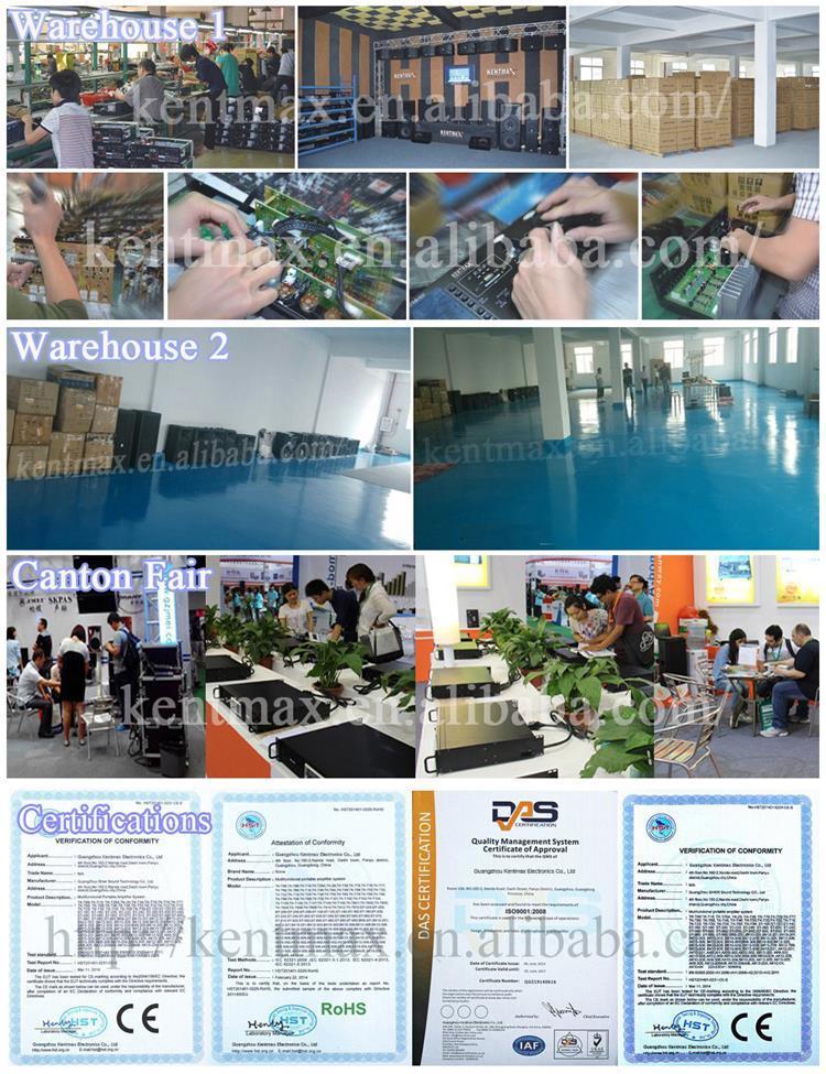 Flt-6250 China Stage Master Digital Audio Watt Power Amplifier