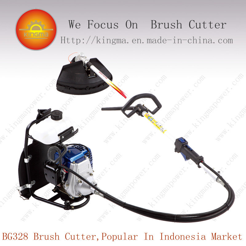 32.6cc Back-Pack Bg328 Gasoline Brush Cutter