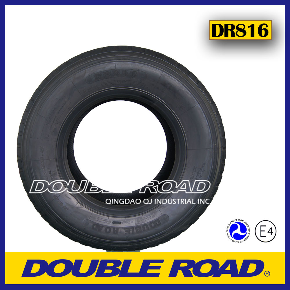 Chinese Export Truck Tyre Factory 385/65r22.5 425/65r22.5 445/65r22.5 Steer Trailer Tire Truck Price