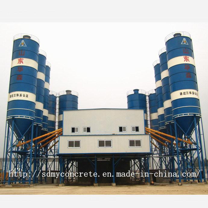 180m3/H Siemens PLC Control Concrete Batching / Mixing Plant