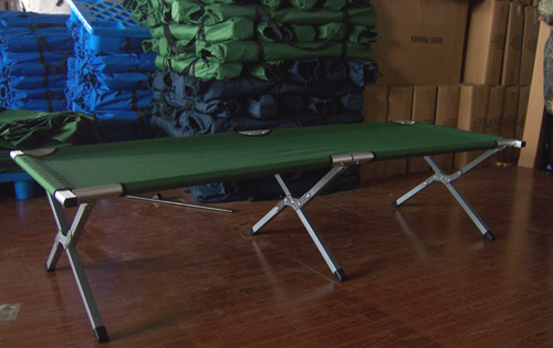 Aluminum Military Folding Camping Bed (etc01101A)