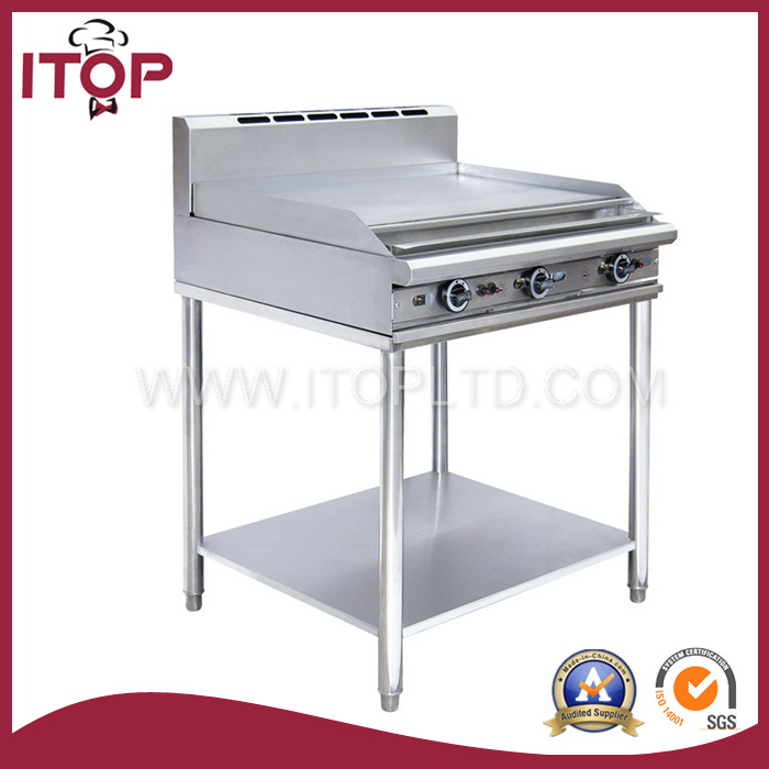 Free Standing Stainless Steel Gas Griddle (GR)