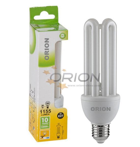 High Brightness T3, T4, T6 15W, 20W, 25W, 30W, 45W, 65W 4u Compact Fluorescent Lamp