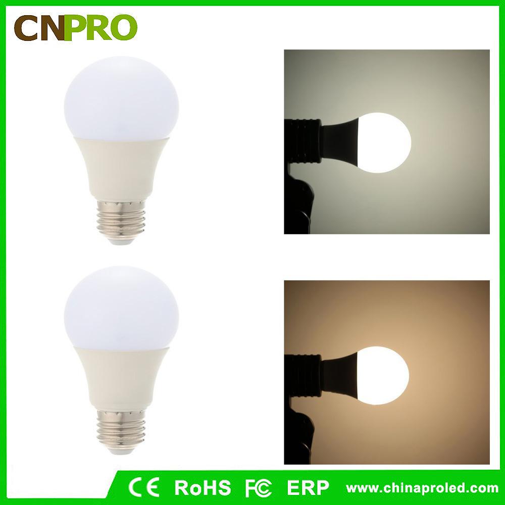 A60 A19 2700-7000k LED Light Bulb 9W