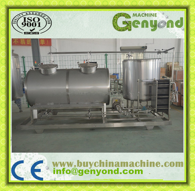 Stainless Steel Liquid Food CIP System