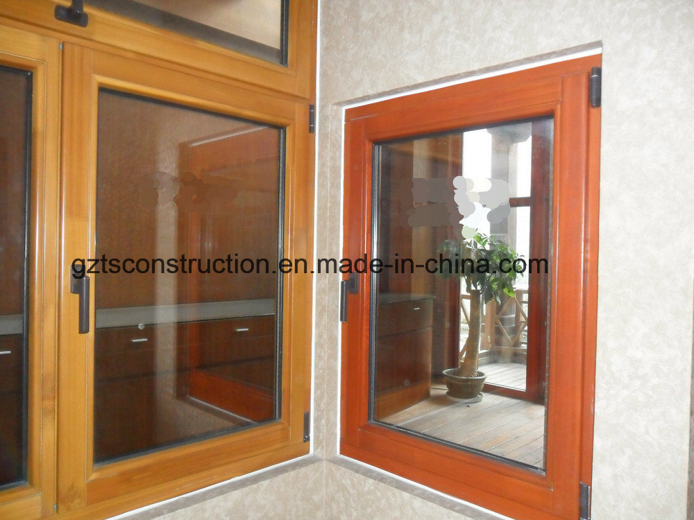 China European Style Wooden Window With As Nzs2208 Photos