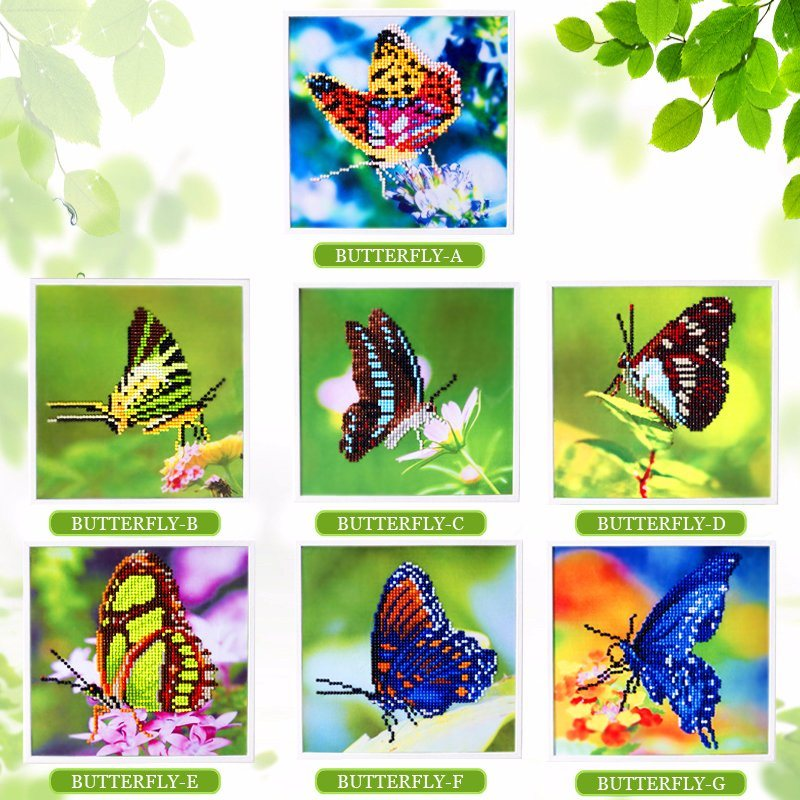 Factory Direct Wholesale Children DIY Crystal Oil Painting Kids Toy T-121