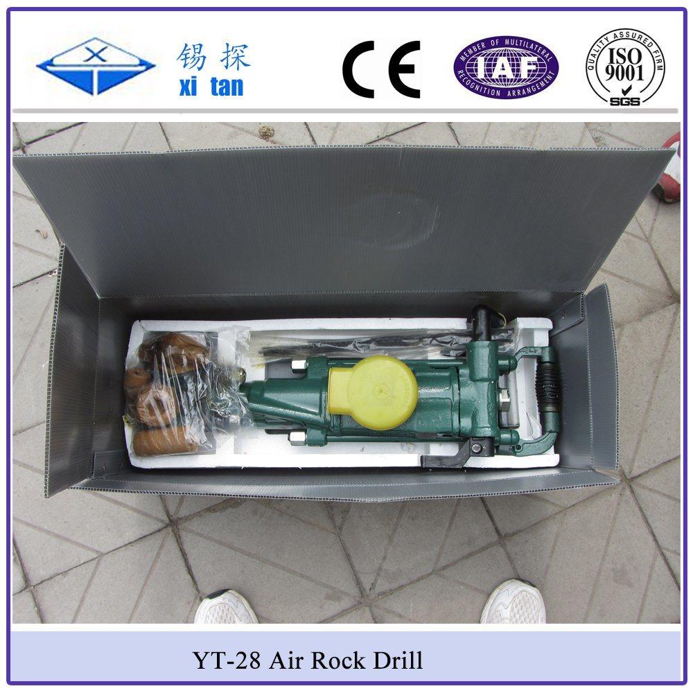 Xitan Yt28 Pneumatic Portable Rock Drill (Yt Drilling Machine)