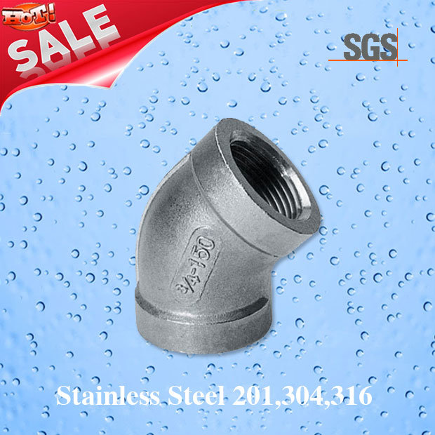 Stainless Steel 45 Elbow, Pipe Fittings 45 Degree Elbow