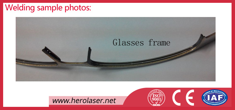 150 200W 400W Glasses Frames, Spectacles Frames, Eyeglasses Laser Welding Machine