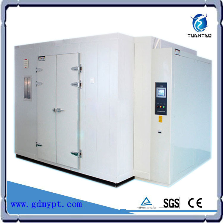 Engineer Oversea Technical Installation Support Provided Walk-in Climatic Chamber