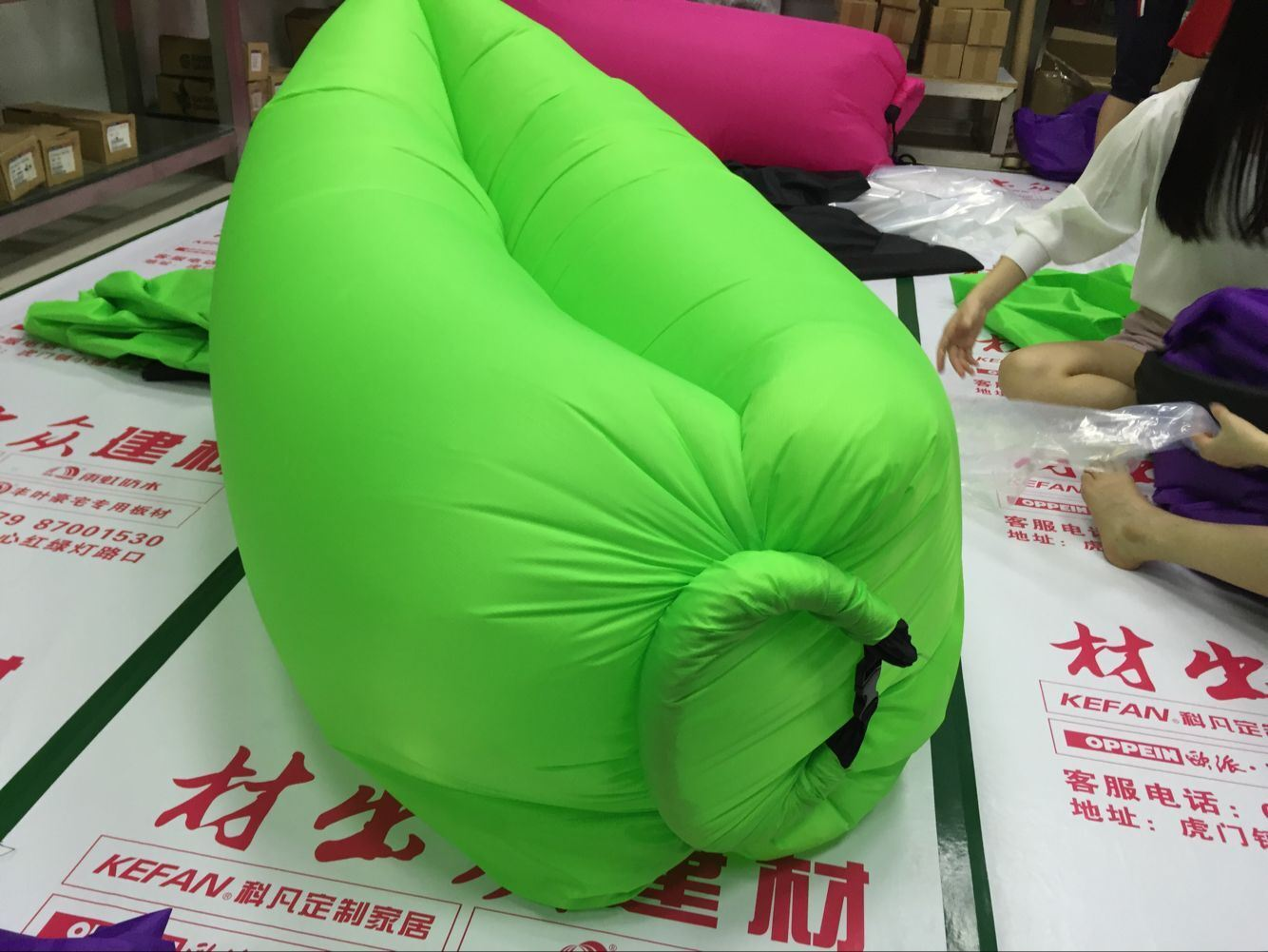 OEM Portable Happy Valley Camping Living Room Inflatable Bags
