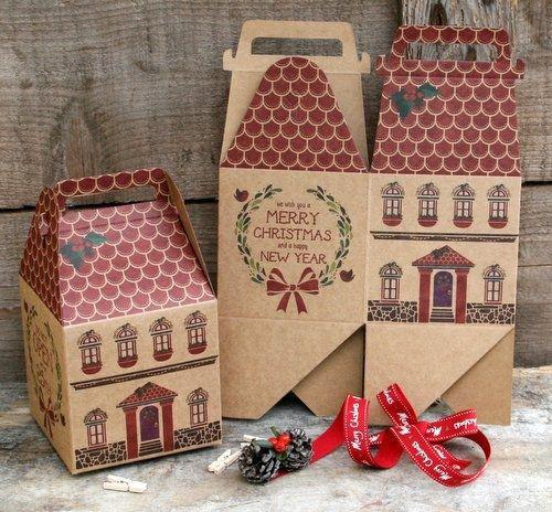Christmas Paper Storage Box