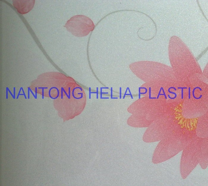 PVC Printing Flexible Plastic Film for Decoration Flooring etc (HL039-2)