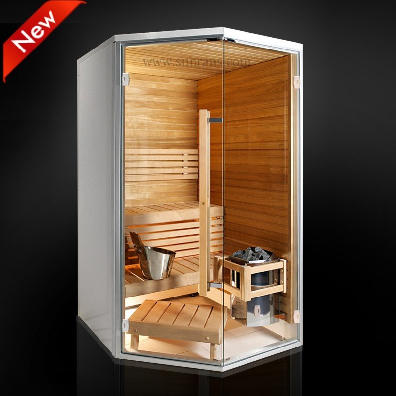 China 2013 New Design Small Mini Barrel Sauna Room