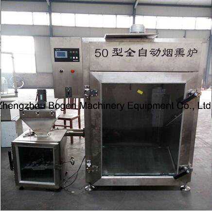Fish Smoking Oven/ Bacon Smoked Furnace/ Meat Sausage Baking Machine