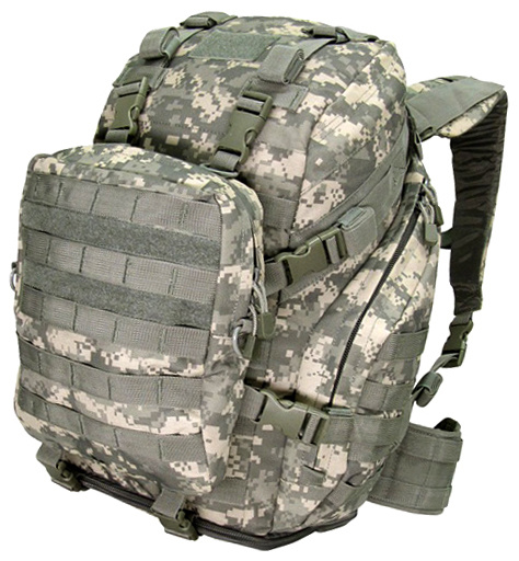 Assault Pack with Shoulder Bag