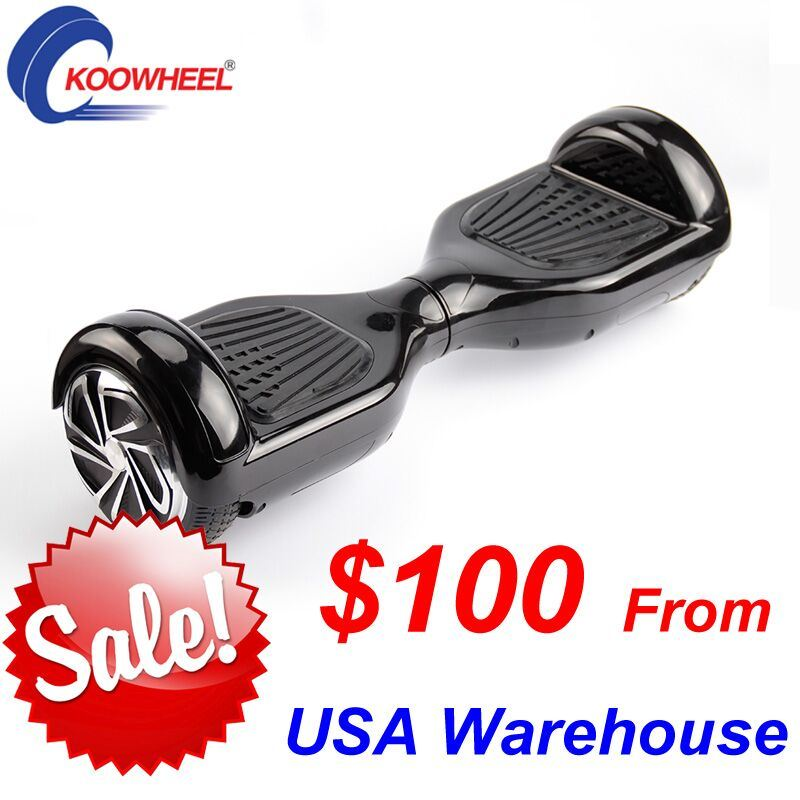 Hoverboard 2 Wheels Skateboard Mini Electric Self Balance Scooter 6.5inch Electric Scooter From USA Warehouse