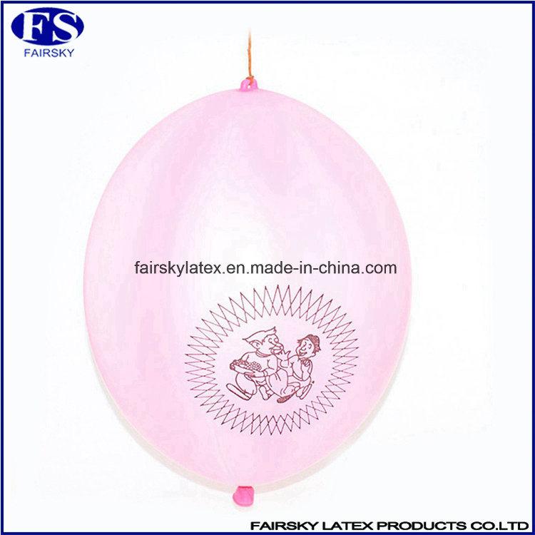 16 Inch Custom Logo Printed Latex Punch Balloon