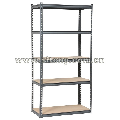 Z-Beam Rivet Locked Five-Shelves Steel MDF Storage Rack or Workbench (MDF-05)