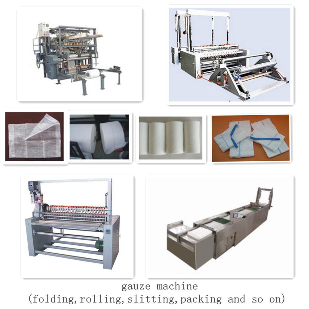 Complete Production Line Gauze Weaving Machine Air Jet Loom