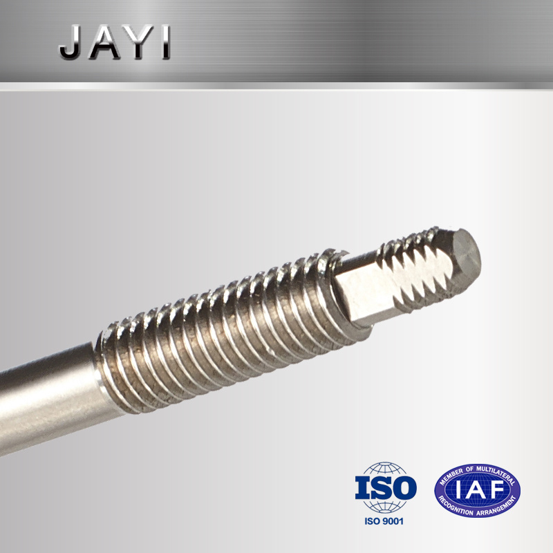 Unstanderd Shaft with Milled Thread of Stainless Steel