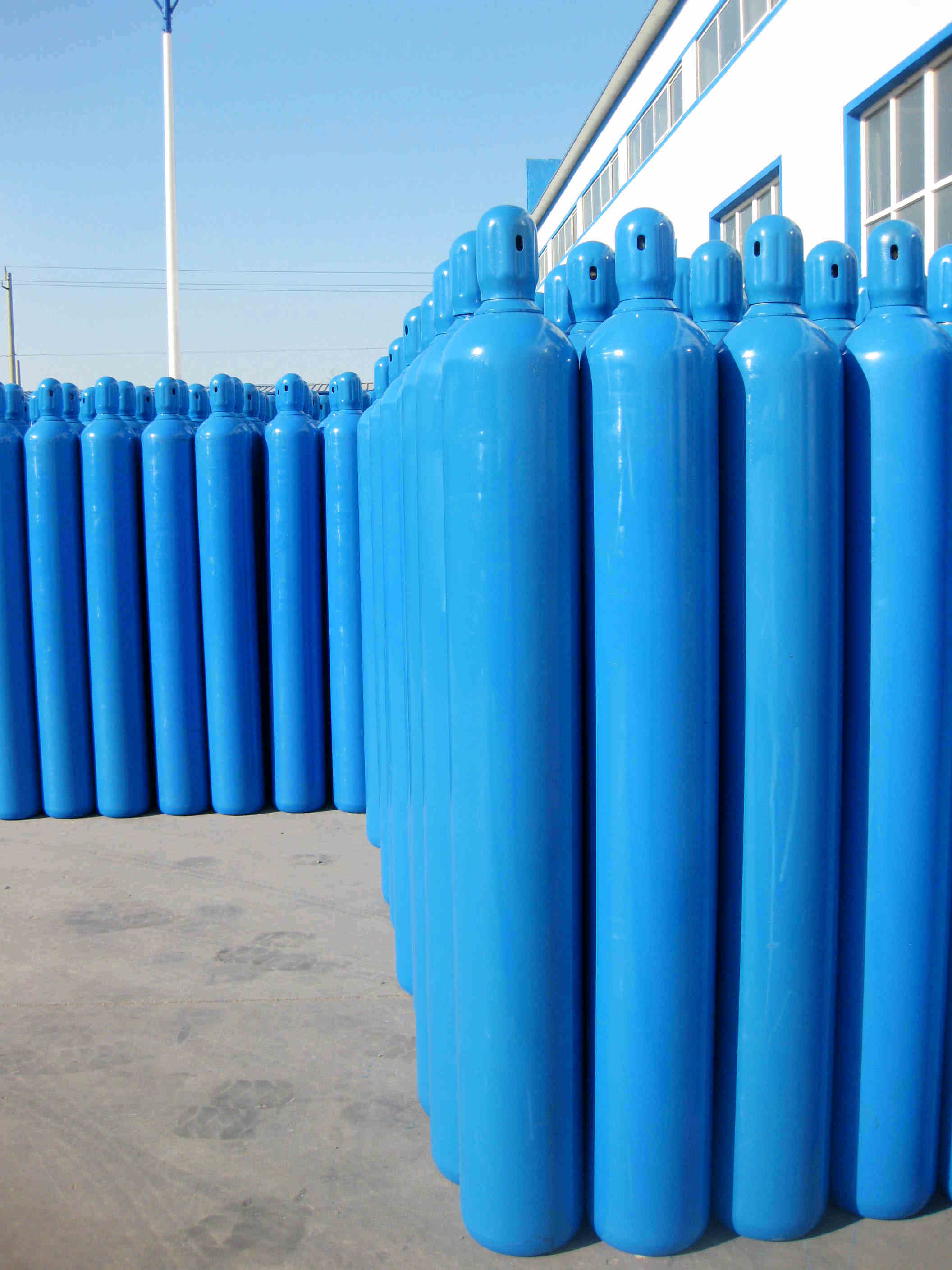 Seamless Steel Industrial Gas Cylinder-40L