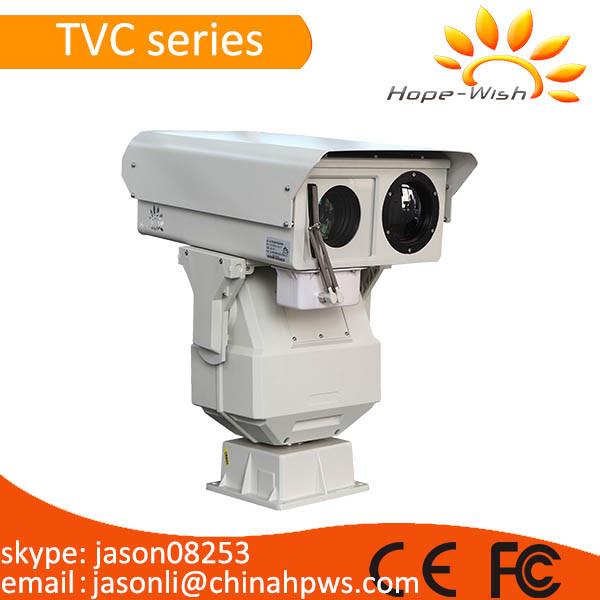 Dual Sensor Fire Alarm CCTV Thermal Security Camera