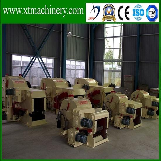 Stable Output, 110kw Siemens Motor Power Wood Crusher Machine