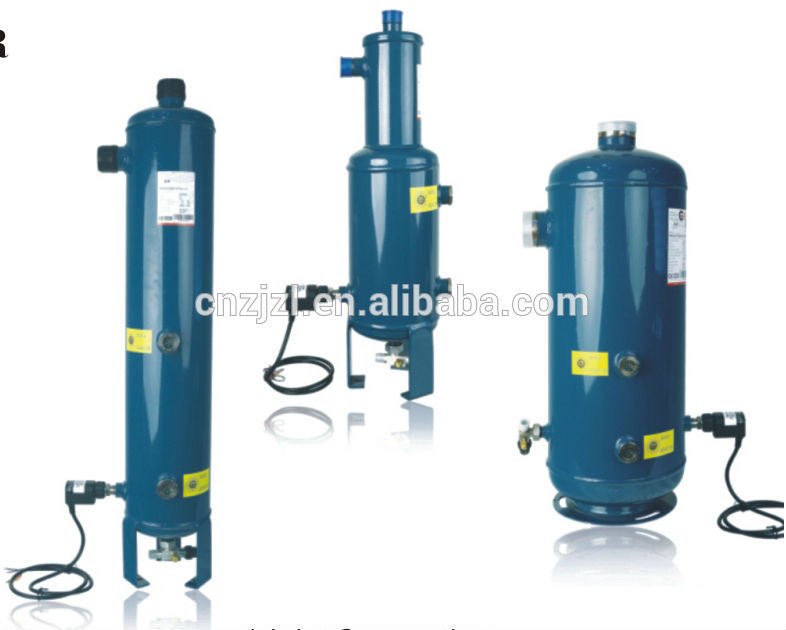 Resour Helical Oil Separator with Oil Reservoir, Oil Separator