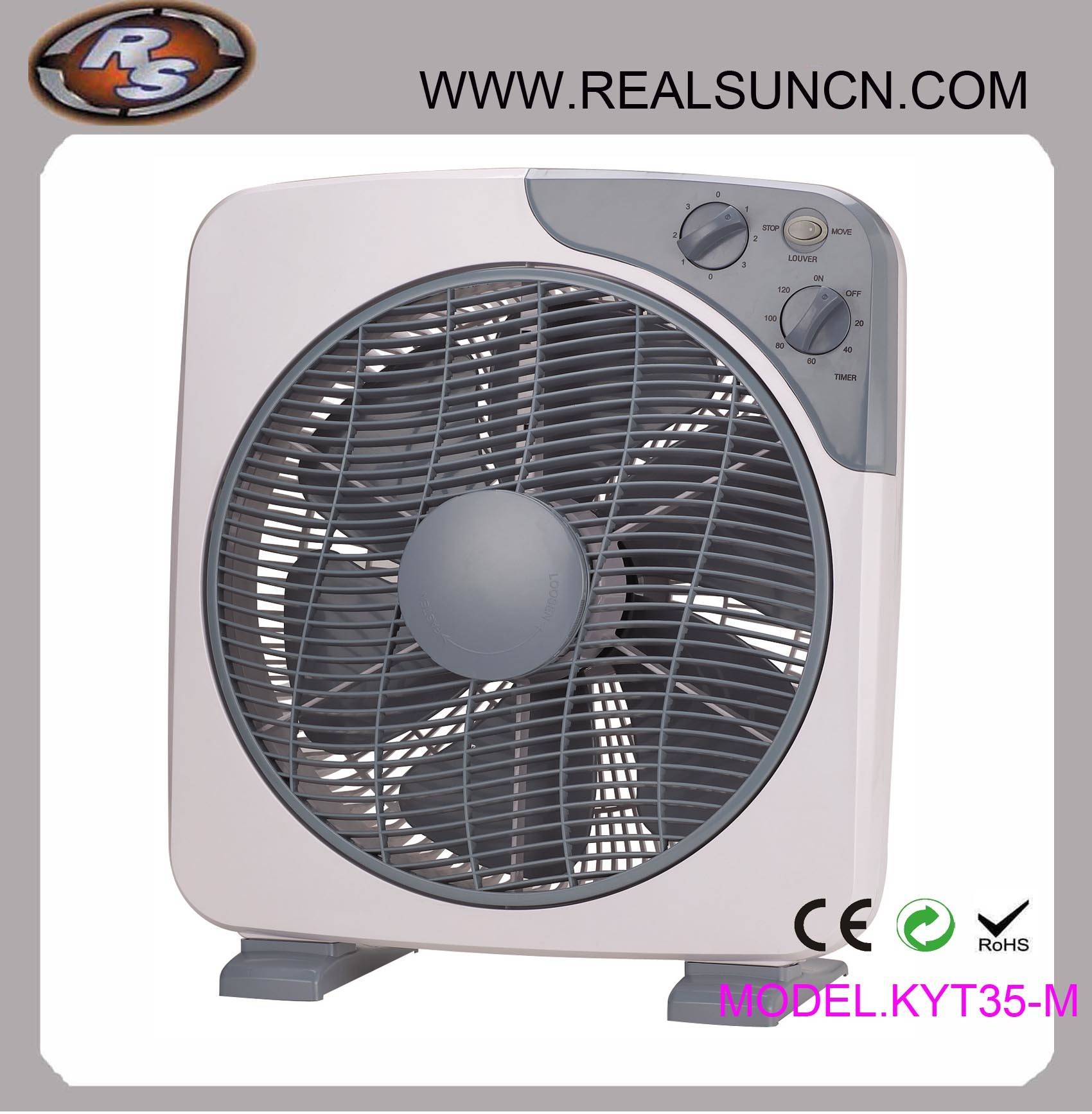12inch Box Fan with Timer (KYT30-A)