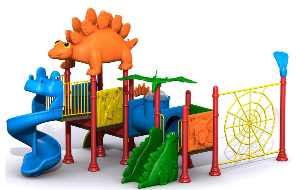 Cartoon Playground Equipment