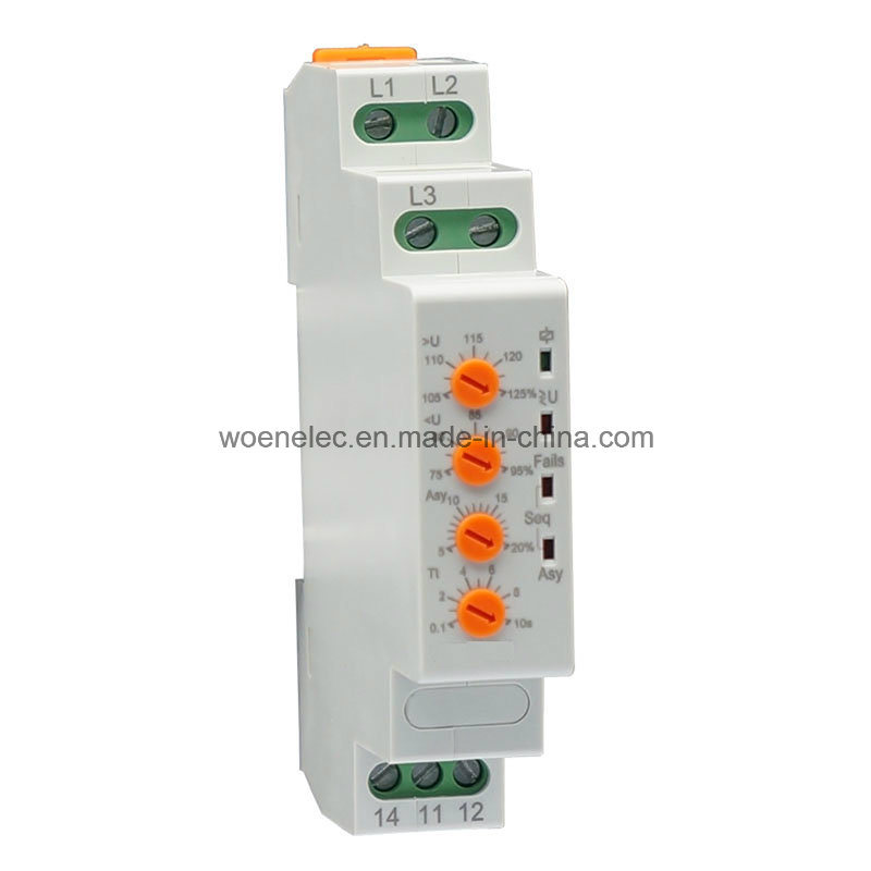 Phase and Voltage Control Relay