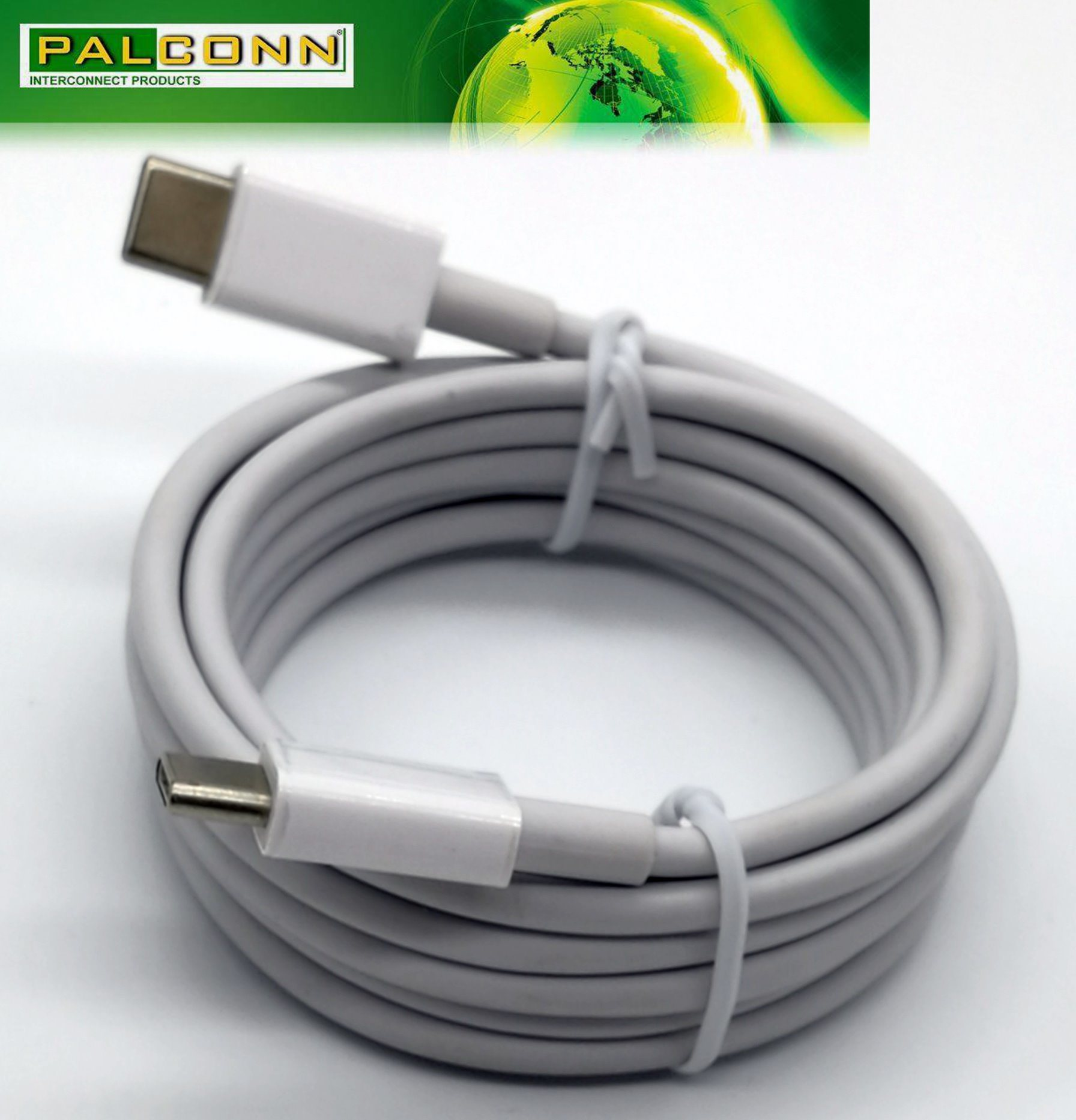 USB2.0 Type C Cable, L=1800mm, E-MARK, Meet Current~5A, for Type C Pd Power Adapter