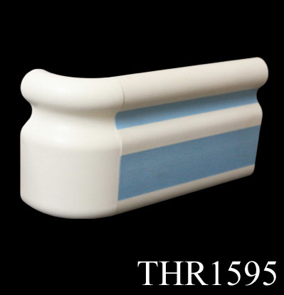 Hospital Handrail for Corridor with 159mm Width