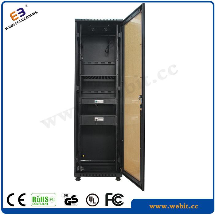 Us Series Network Cabinet with Perspex Front Door