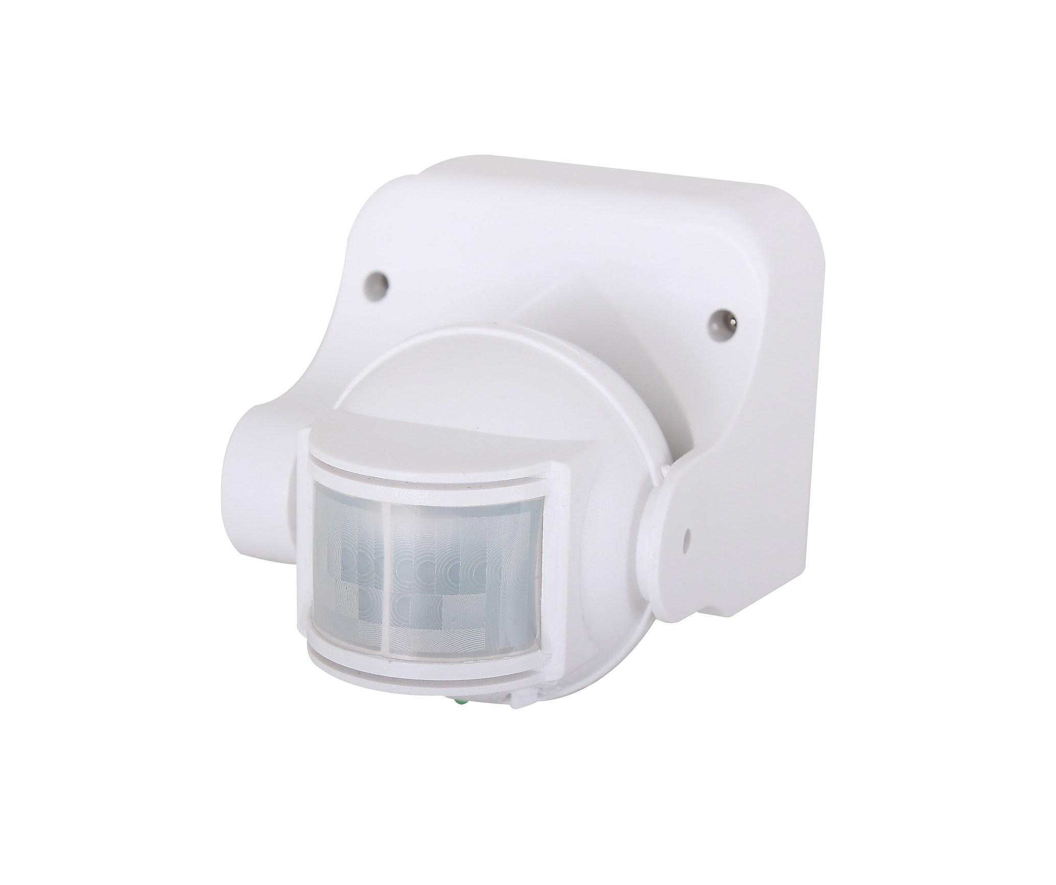 Схема и фото подключения датчика движения для освещения