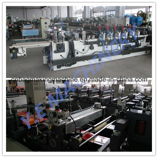 Zd-600tc Multifunction Plastic Central Sealing and Three Side Sealing Pouch Laminated Bag Making Machine