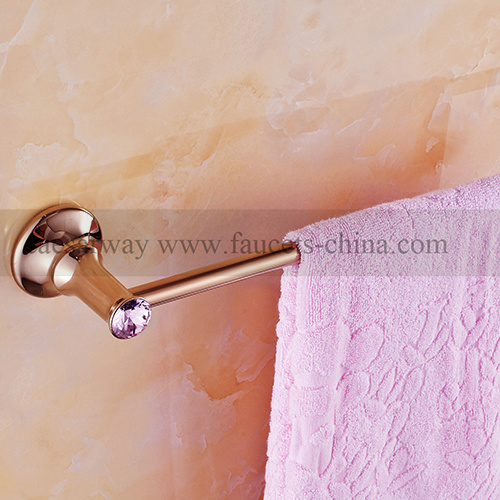Rose Golden Bathroom Accessories