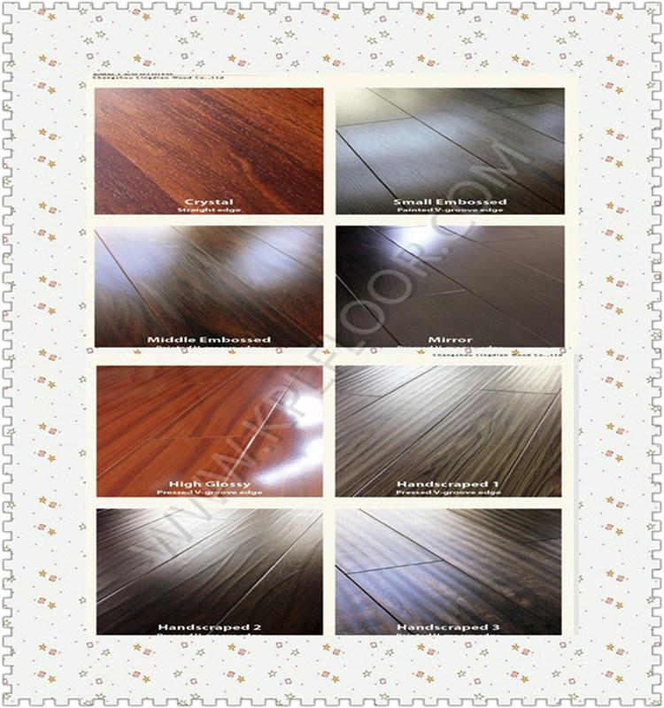 Laminate Floor HDF AC3 AC4 8mm in More Colors