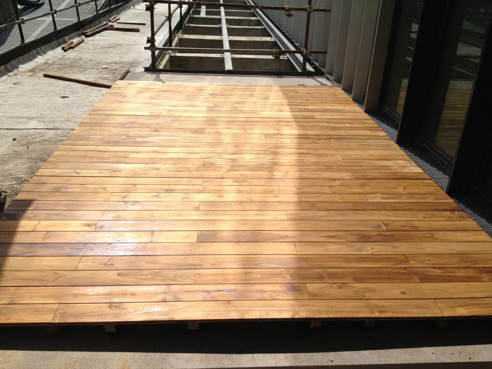Teak Hardwood Decking (BTD-IXX)