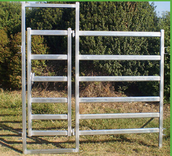 Galvanized Metal Fence Cattle Fence