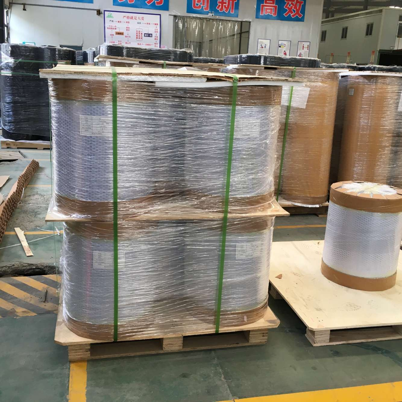 Virgin Transparent PVC Calender Rigid Film for Pharmaceutical Packing