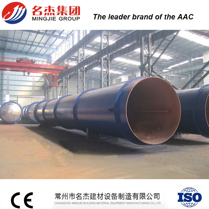 Safety Full Automatic Electric Opening AAC Autoclave for AAC Plant